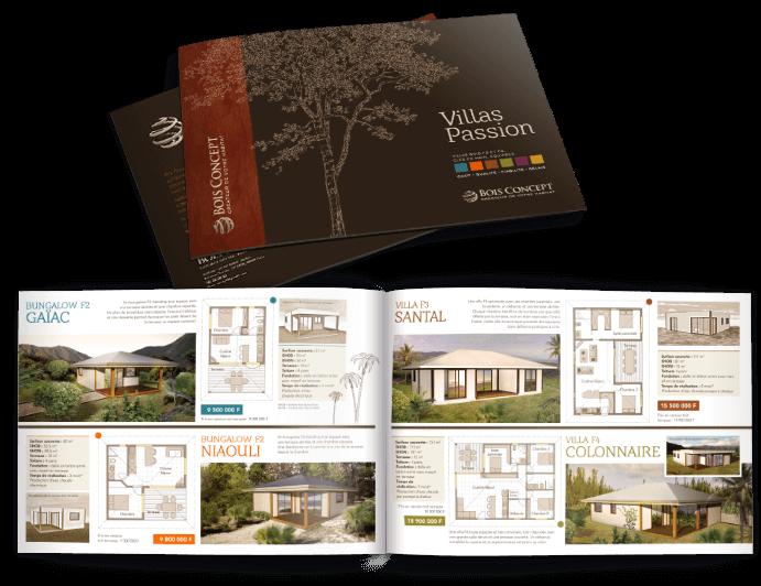 Bois concept - brochure Villas